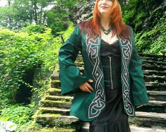 Celtic Knotwork Irish 18th century coat