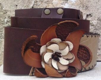 low waist belt, leather belt,flower leather belt,women fashion belt