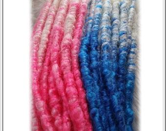Mystheryum Crochet Harley Quinn Synthetic Dreads