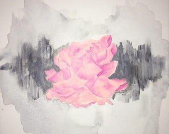 Watercolor Flower Painting