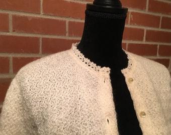 Vintage I Magnin cardigan sweater