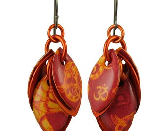 Elephant Ohm Petals to the Metal Earrings