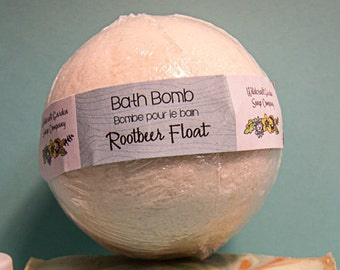 Root Beer Float - Luxe Bath Bomb with Milk