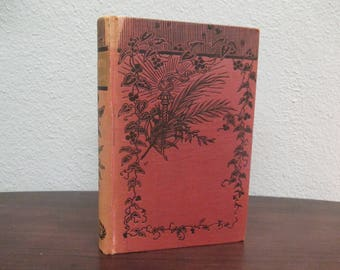 Kenilworth by Sir Walter Scott, Advance Edition, Vintage Red Hardcover Book