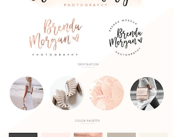 Logo design/ Branding Kit/ Branding package/ Watercolor logo design/ Business logo design, photography logo/ premade logo/ watermark logo