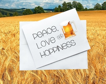 Peace, Love and Hoppiness
