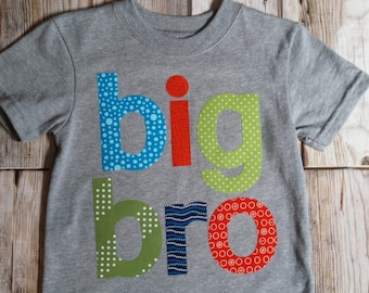 Big Brother Shirt-Big Bro Shirt-Sibling Shirts-Big Little Shirts-Big Brother T-Shirt-Big Bro T-Shirt-Birth Announcement-Big Brother Tee