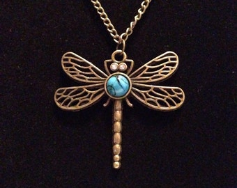 Adorable Dragonfly Necklace