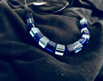 "Necklace ""shade of blue"""