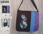 Mermaid bag flap for LARG...