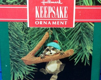 1990 Hang in There Hallmark Retired Ornament