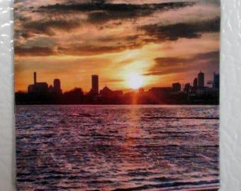 Sunset Photo Magnet