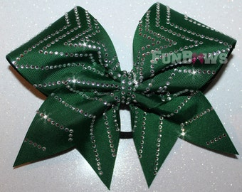 Awesome Rhinestone Star Allstar Cheer Bow by FunBows !