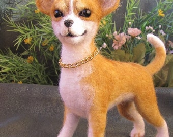 felt dog Chihuahua