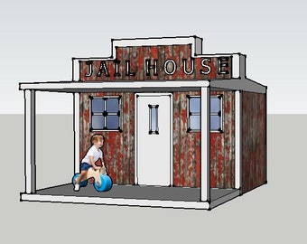 Build it yourself Playhouse Plans