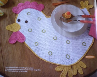 Easter Placemat - HEN -