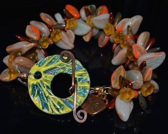 Fall Festival of Leaves Bracelet