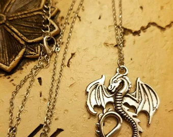 Dragon Necklace,  Pendant