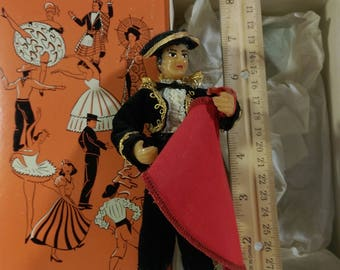 """7"""" Matador by the Flagg Doll Company"""