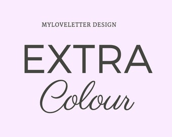 Extra colour for my premade logo