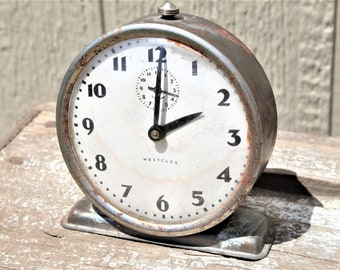 Vintage  1930's Westclox Bingo Clock