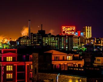 Domino Sugar Plant, Baltimore, Maryland (1-16-16)