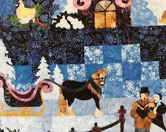 APRILSALE Mount Redoubt Designs The Spirit of Christmas quilting pattern book