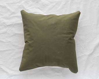20X20 Army Canvas Pillow