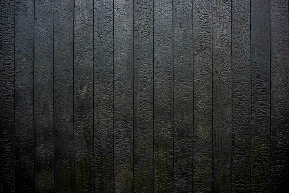 Shou Sugi Ban Charred Wood Paneling