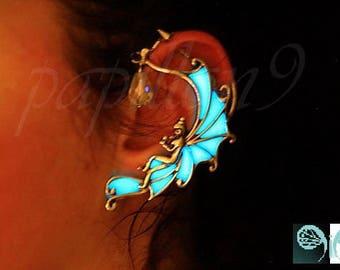 Angel Ear Cuff / GLOW in the DARK / Fairy Ear Cuff / Glow Ear Cuff /
