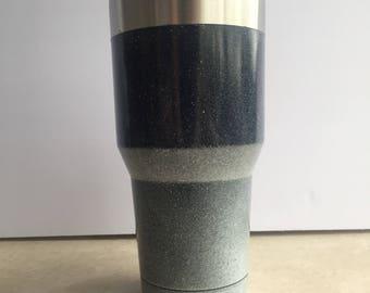 Custom Painted Ombre Mug, Gloss Finish - 30 oz