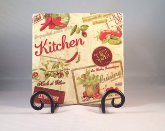 Vintage Kitchen Trivet ( hot pad)