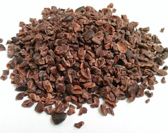 Cacao / Cocao / Coco Nibs Raw (Peru) Organic, Premium Quality, UK Based, Free P&P within the UK