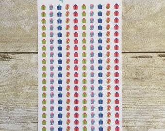 Presents for Birthdays Christmas Planner Mini Stickers M13
