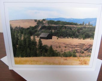 Photo Greeting Card | Handmade Card | Photo Note Card | Original Photography | Barn