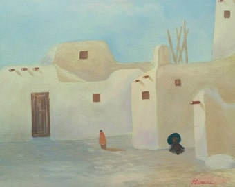 Siesta - ALFfirmation of a thrift store painting - Alf, southwestern style