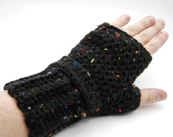 Crochet fingerless gloves, crochet wristlets, fingerless mittens, wrist warmers, arm warmers, wristlettes, womens gloves, fingerless mitts