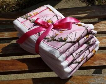 Pink Camo! Set of 5!
