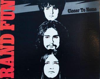Grand Funk Railroad Closer to Home Original 1970 Capitol Records Rock Vintage Vinyl Record LP