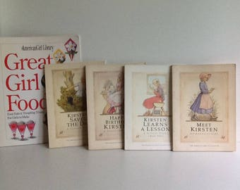 Vintage AMERICAN GIRL Pleasant Company Books Lot