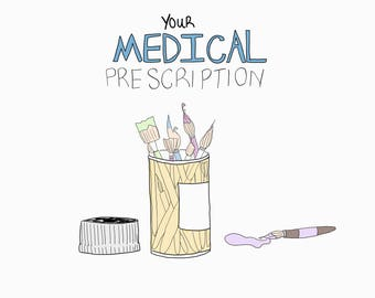 Medical Prescription (Art Therapy)