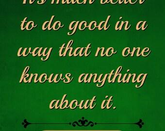 Anna Karenina, Leo Tolstoy Quote Digital Poster