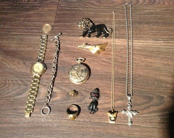 Estate Costume Jewelry, Vintage to now, unsearched & untested Lot #4