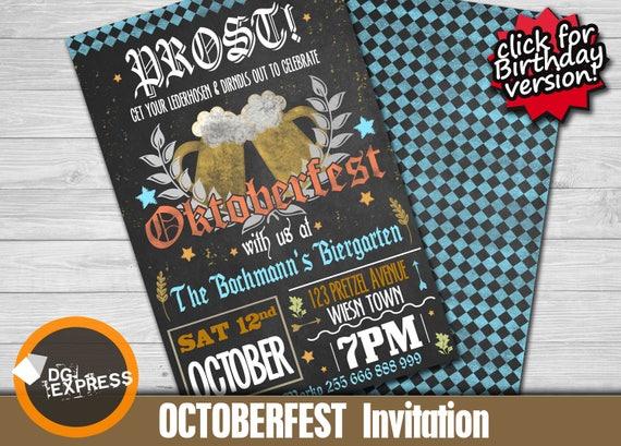 Oktoberfest invitation oktoberfest invitation like this item stopboris Images