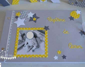 ON order-guestbook essential star yellow gray white