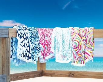 Monogram Sand Circle, Sand Circle, Monogrammed Beach Towel, Monogram Towel, Monogram Beach Towel, Sand Circle Blanket, bridesmaid gift