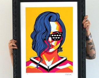 Seeing black & White, Limited Edition signed Artprint