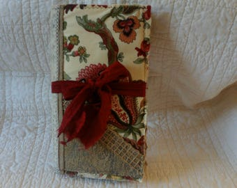 Soft cover, fabric journal