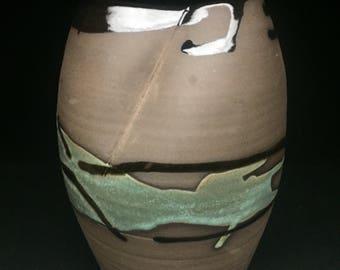Black Clay Vessel