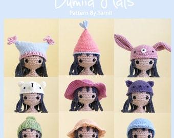 12 Dumiia Hats Crochet Patterns By Yarnii